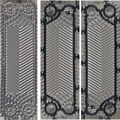 Пластина с уплотнением к теплообменнику funke Кожухотрубный конденсатор Alfa Laval CDEW-190 T Оренбург
